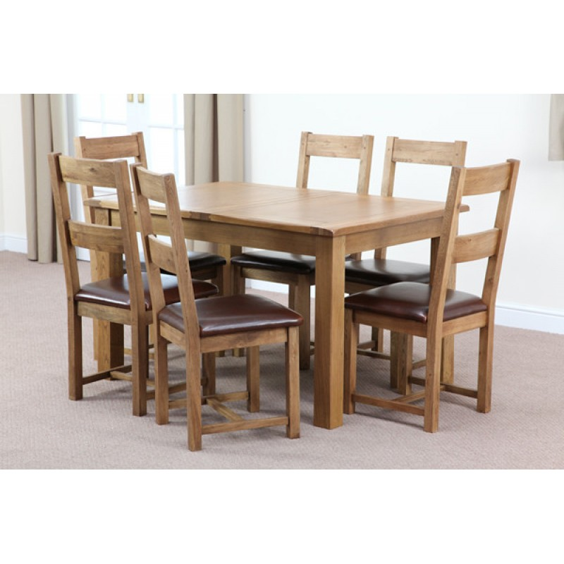 American White Oak 1 8m Dining Table
